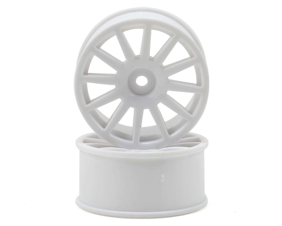 Traxxas 8.5mm Hex LaTrax 12-Spoke Wheels (2) (White)