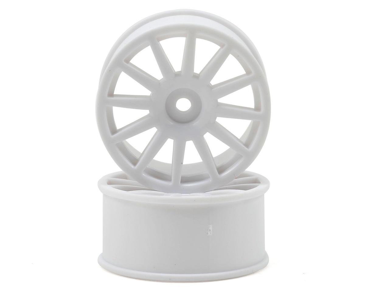 8.5mm Hex LaTrax 12-Spoke Wheels (2) (White) by Traxxas