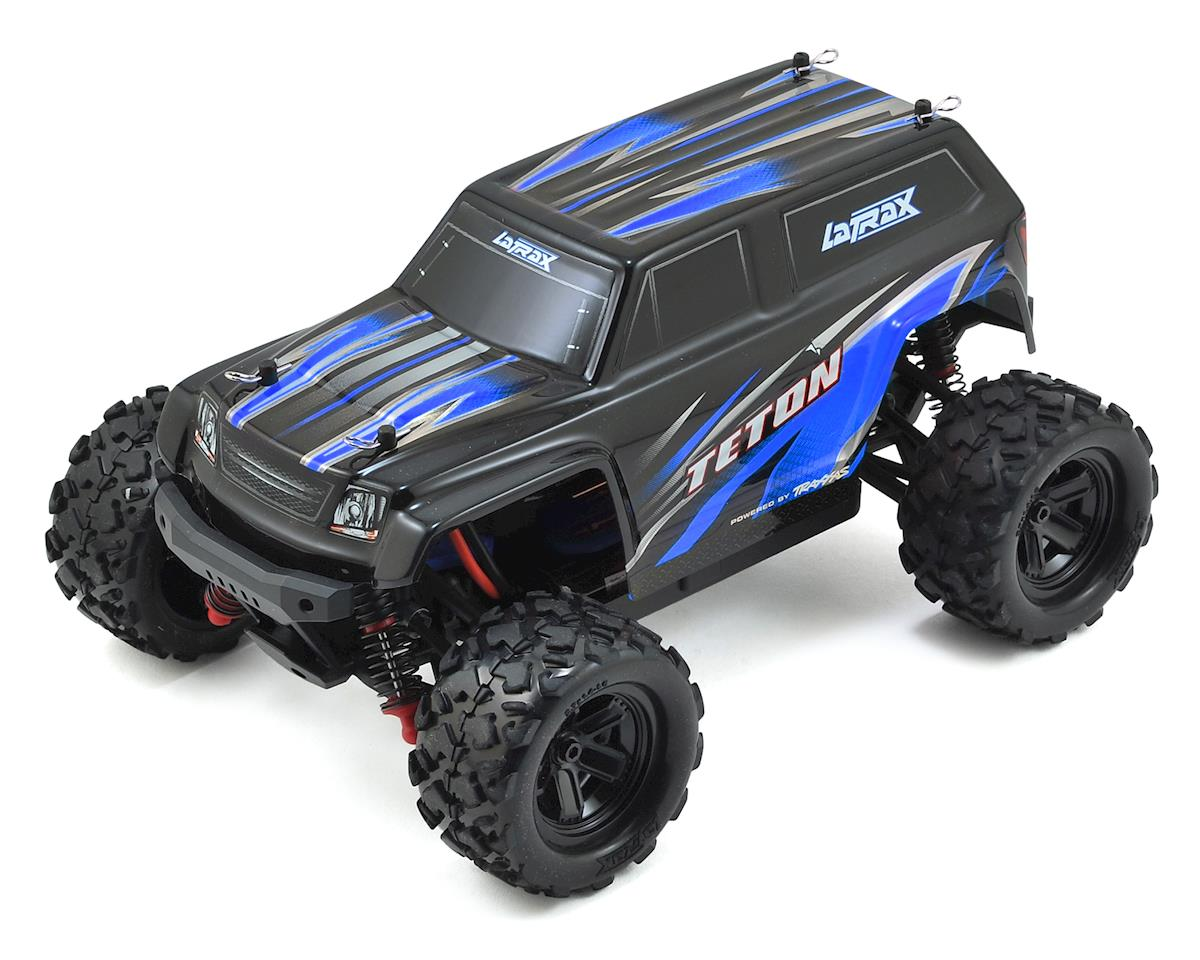 LaTrax Teton 1/18 4WD RTR Monster Truck (Blue) by Traxxas