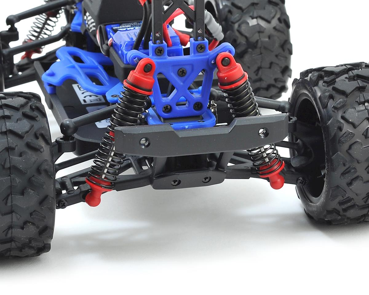 Traxxas LaTrax Teton 1/18 4WD RTR Monster Truck (Red) w/2 4GHz Radio,  Battery & AC Charger