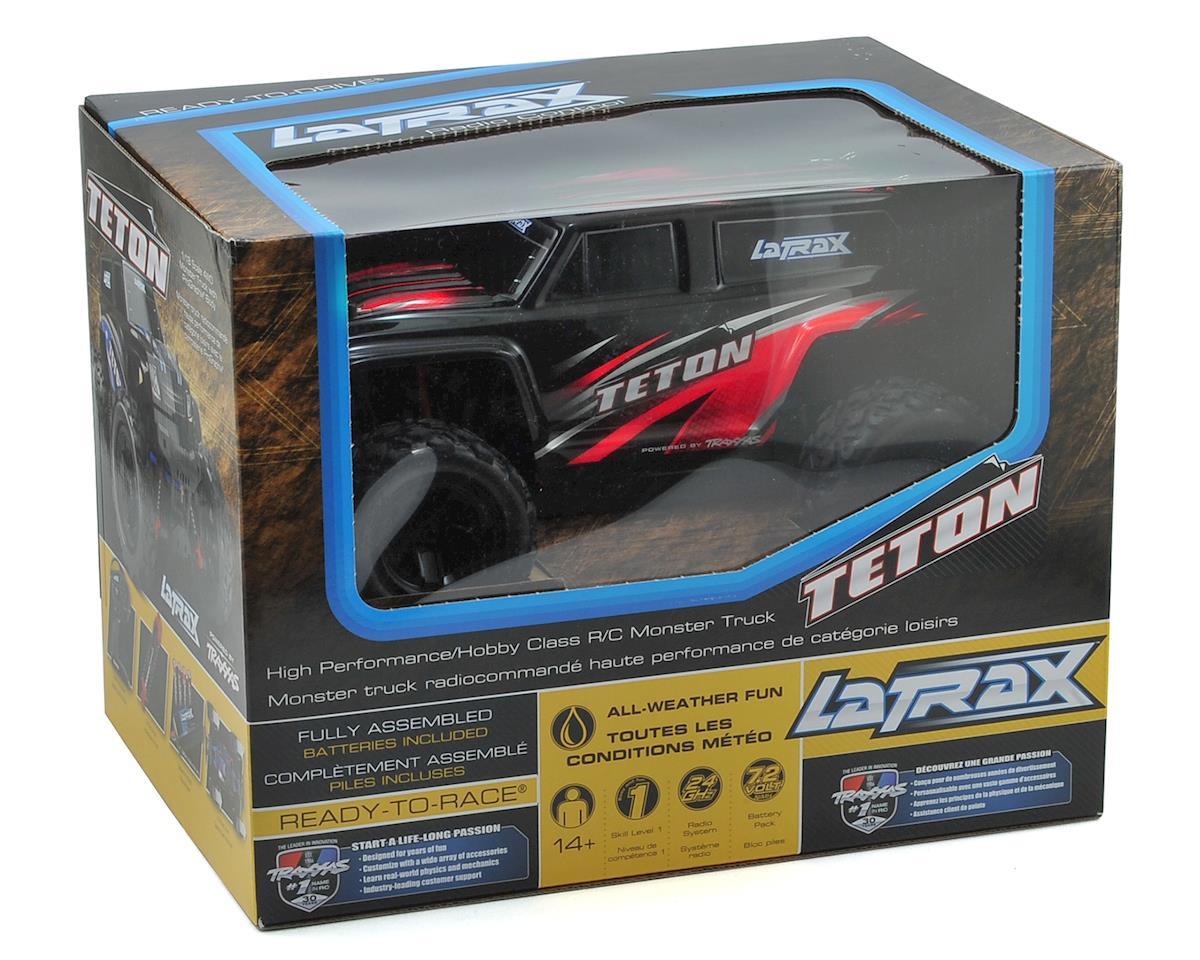 Traxxas LaTrax Teton 1/18 4WD RTR Monster Truck (Red)