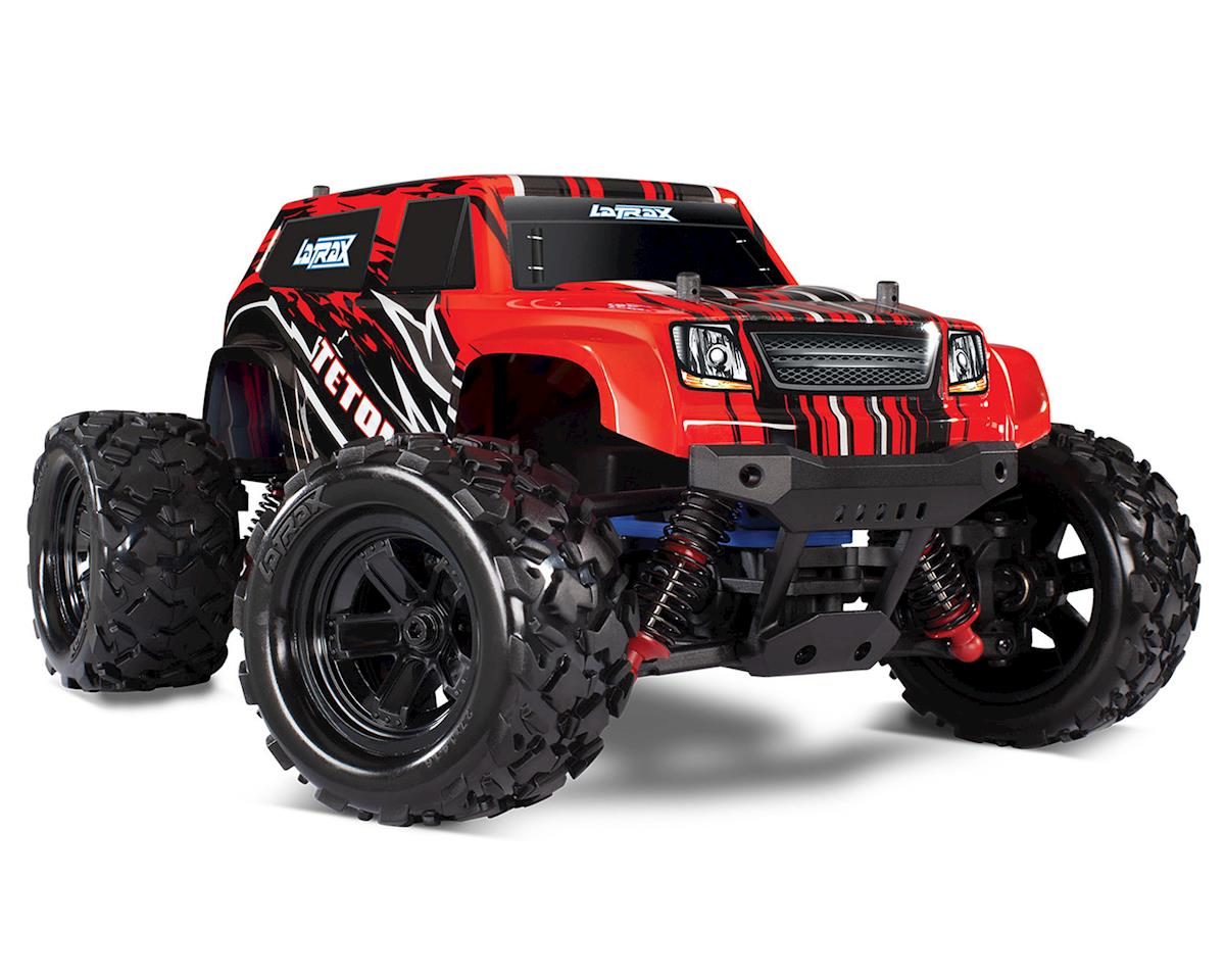 Traxxas LaTrax Teton 1/18 4WD RTR Monster Truck (Red)