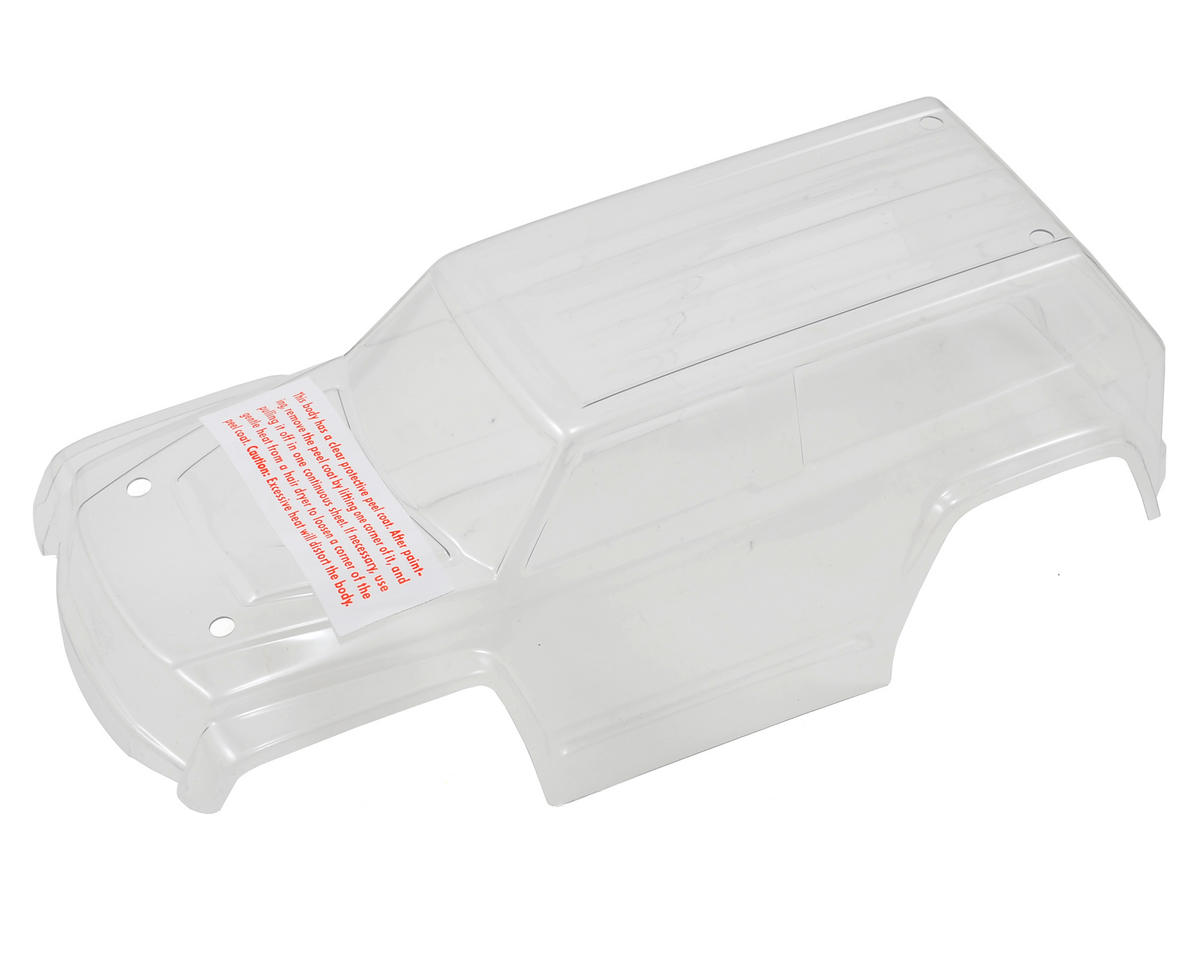 LaTrax Teton Body (Clear) by Traxxas