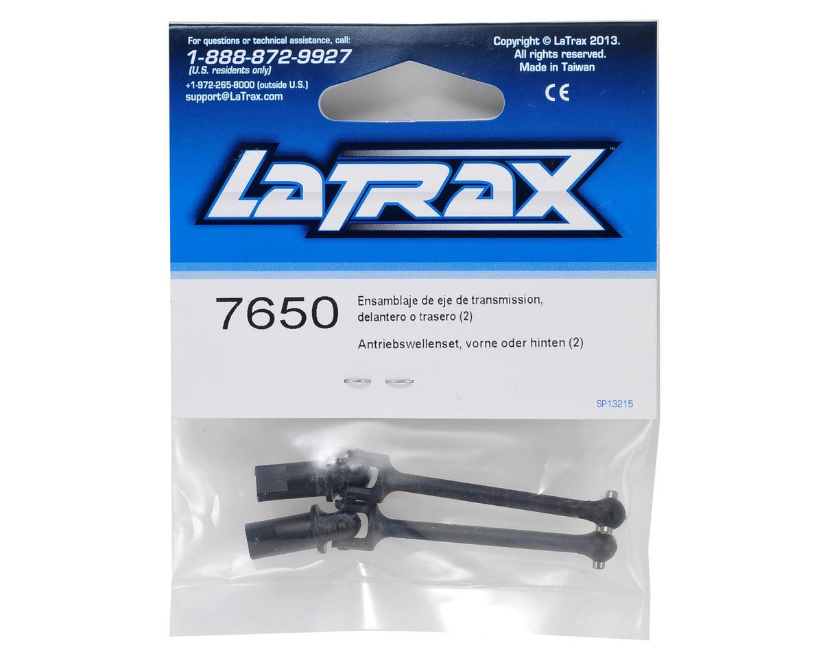 Traxxas LaTrax Front/Rear Assembled Driveshaft (2)