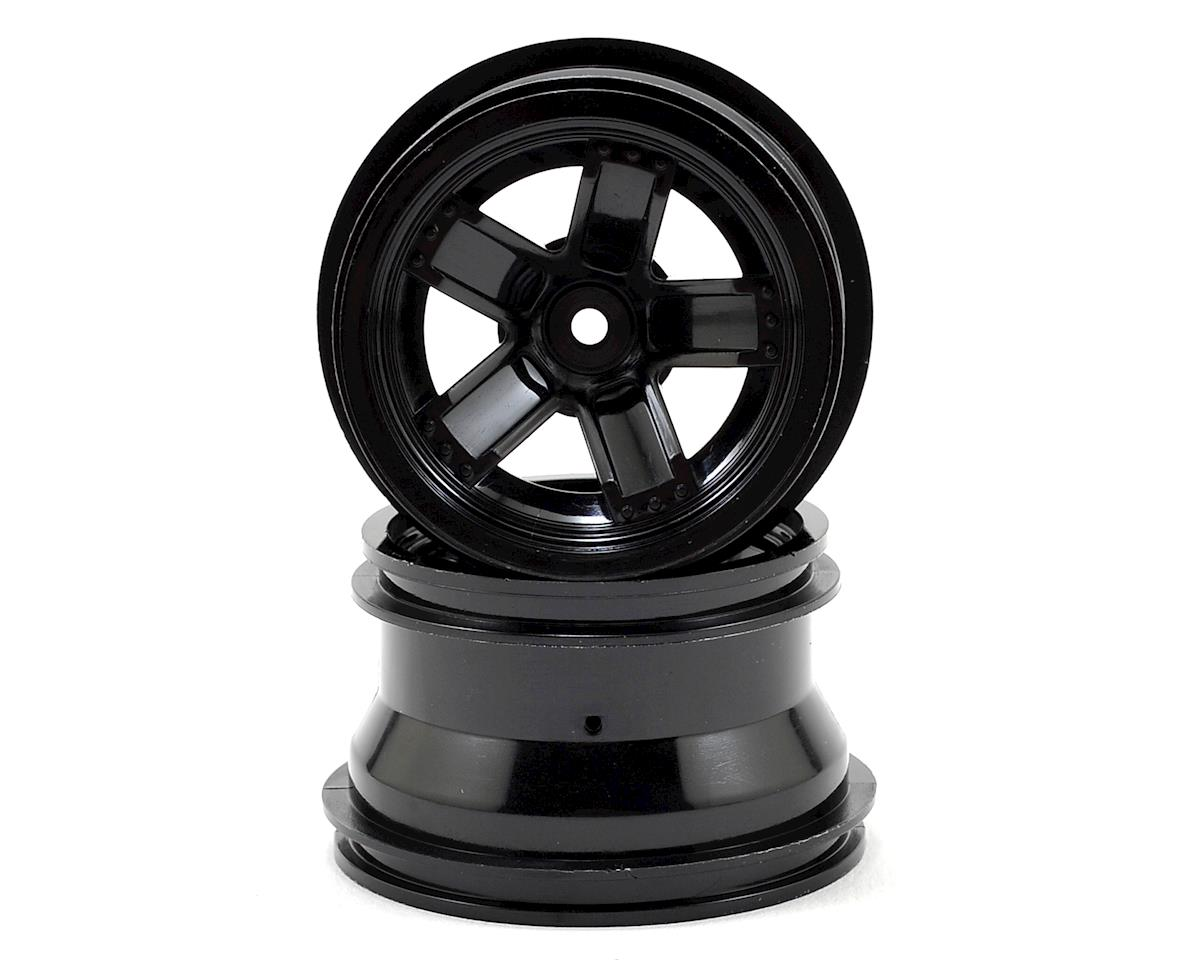 Traxxas LaTrax Teton 5-Spoke Wheels (Black) (2)