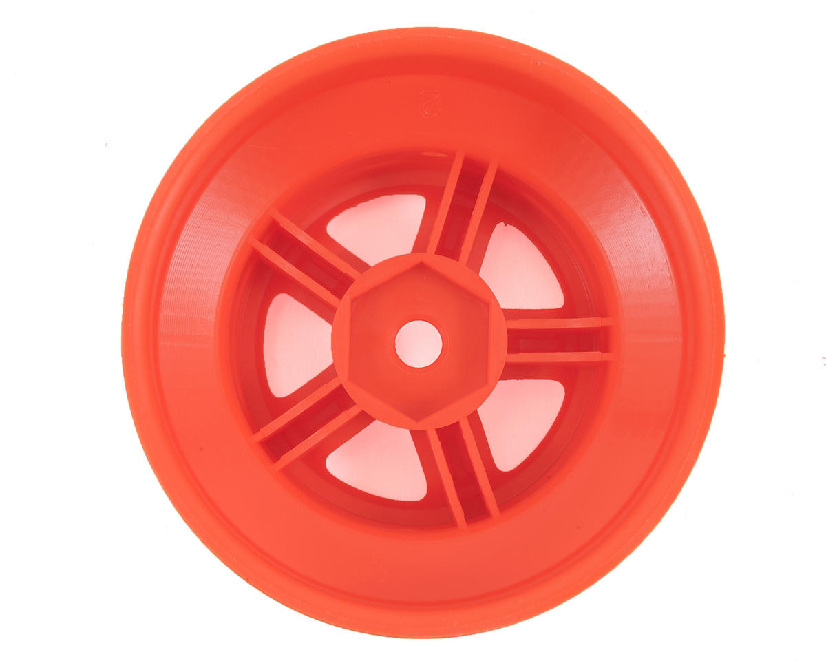 Traxxas LaTrax SST 1/18 SCT Beadlock Style Wheels (2) (Orange)
