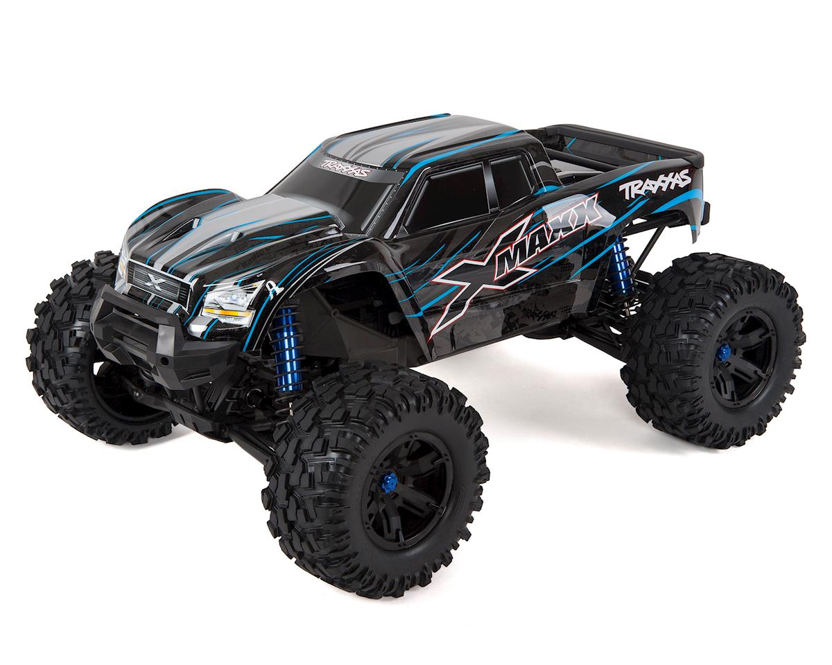 X-Maxx 8S 4WD Brushless RTR Monster Truck (Blue) by Traxxas