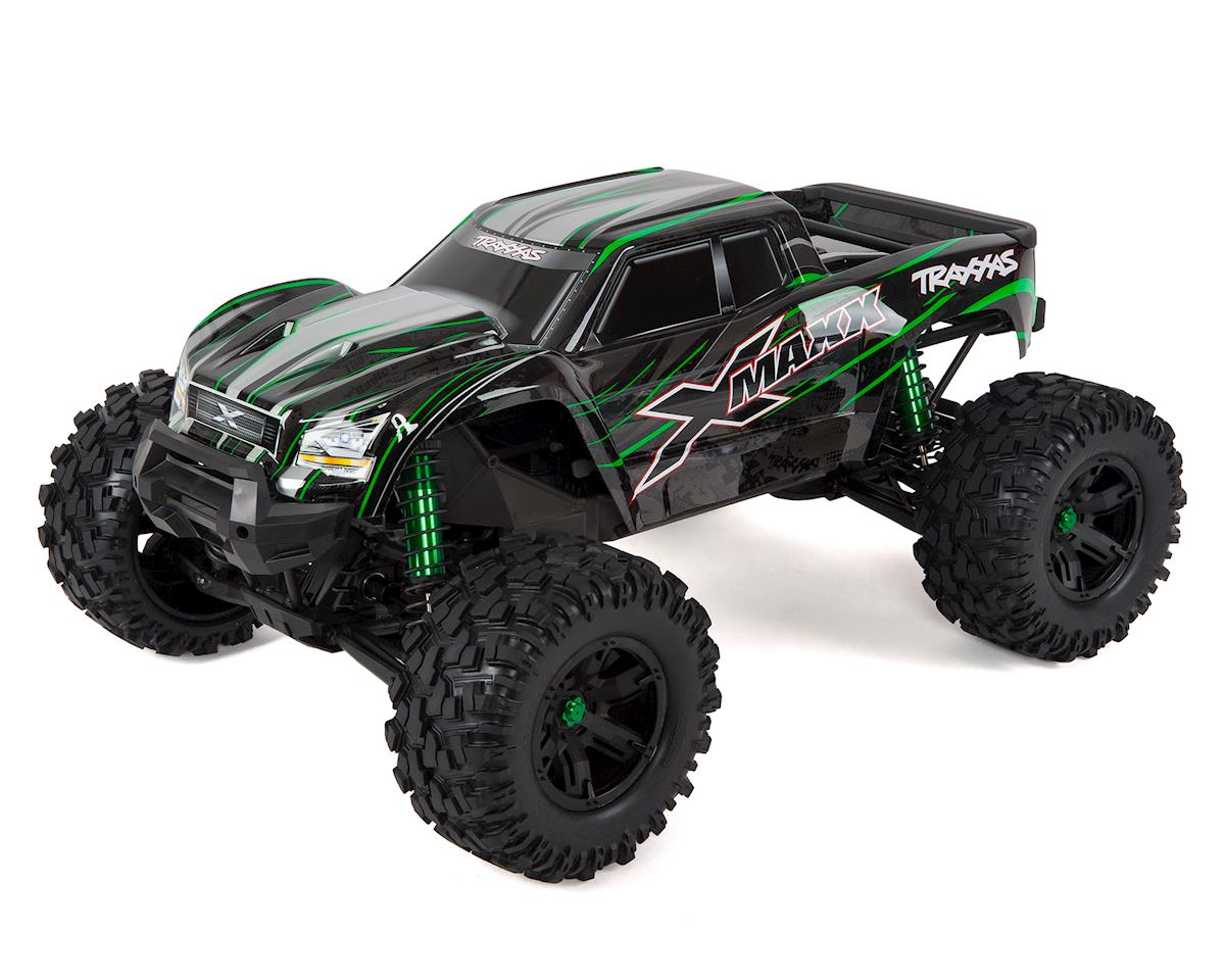 X-Maxx 8S 4WD Brushless RTR Monster Truck (Green) by Traxxas
