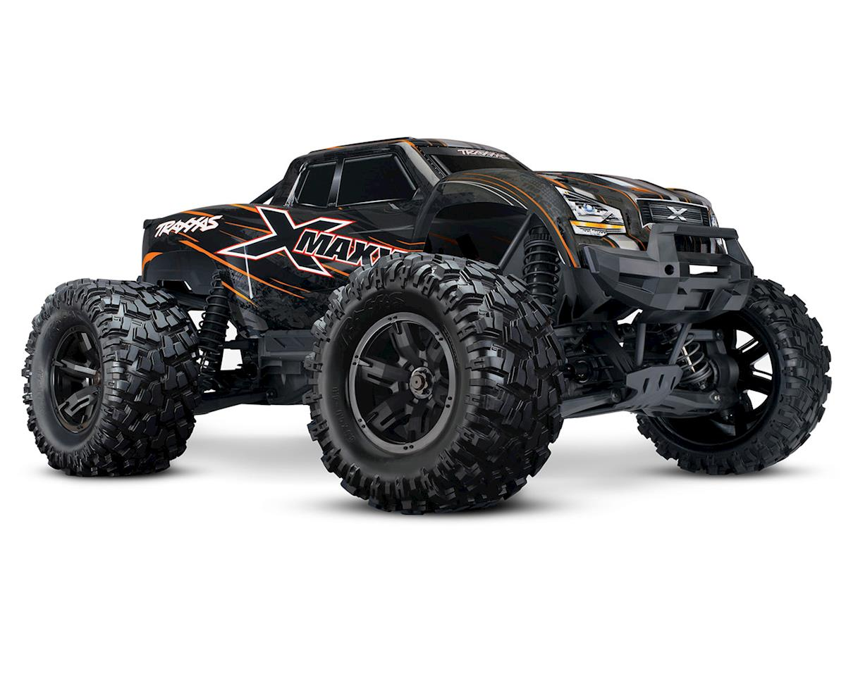 Traxxas X-Maxx 8S 4WD Brushless RTR Monster Truck (Orange)