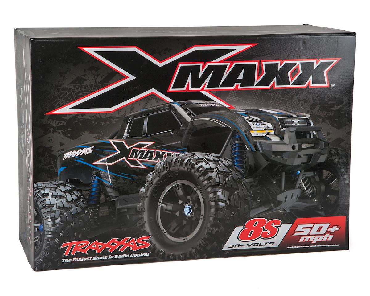 Image 7 for Traxxas X-Maxx 8S 4WD Brushless RTR Monster Truck (Orange)
