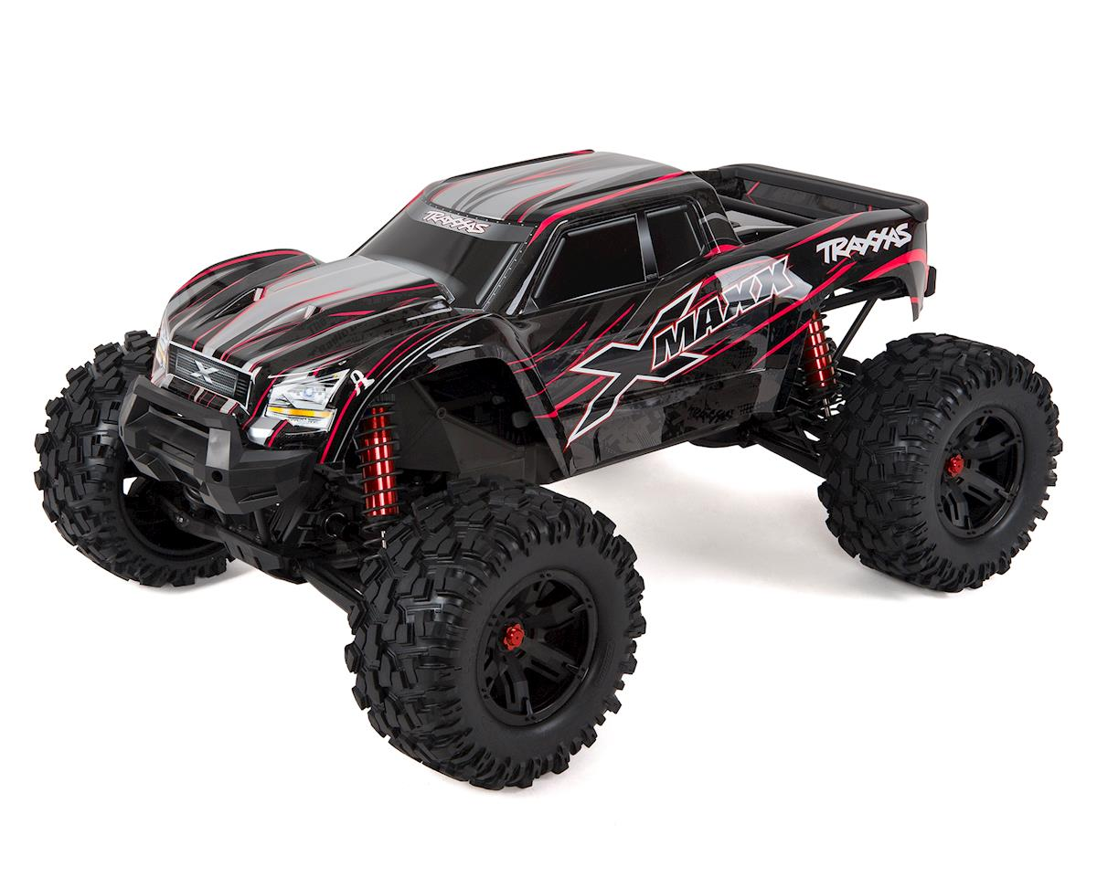 X-Maxx 8S 4WD Brushless RTR Monster Truck (Red) by Traxxas