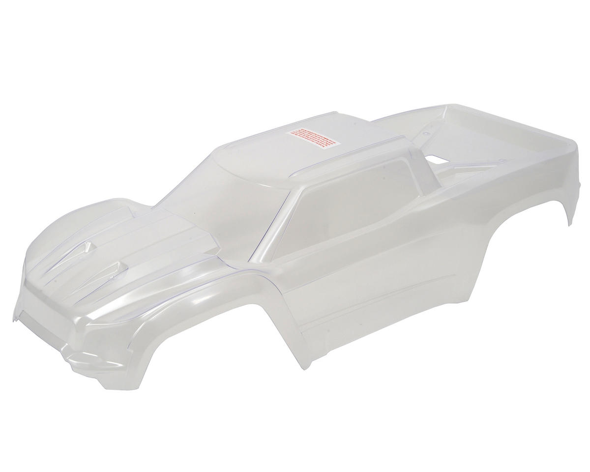 X-Maxx Monster Truck Body (Clear) by Traxxas