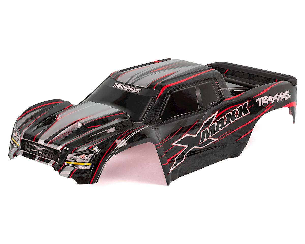 Traxxas X-Maxx Monster Truck Pre-Painted Body (Red)