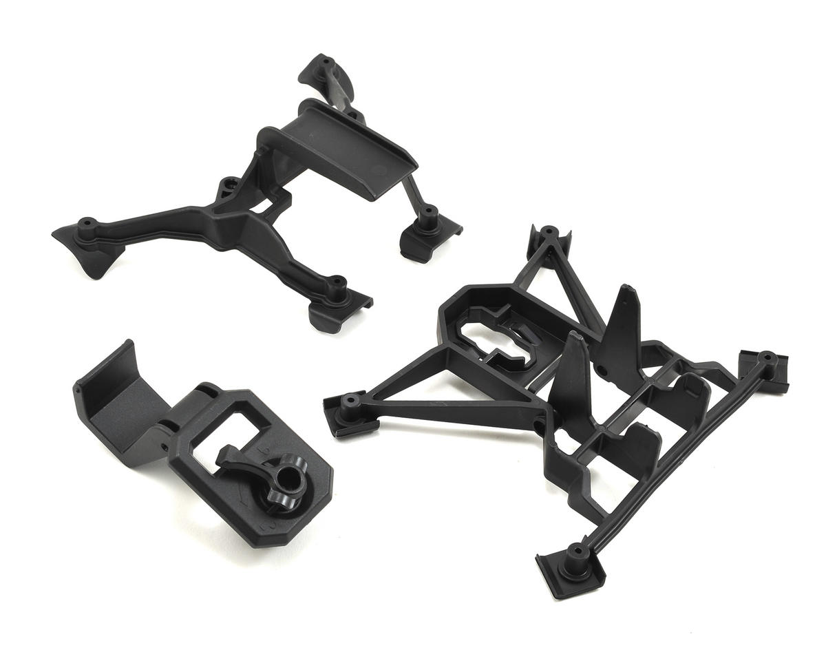 X-Maxx Front & Rear Body Mount Set by Traxxas