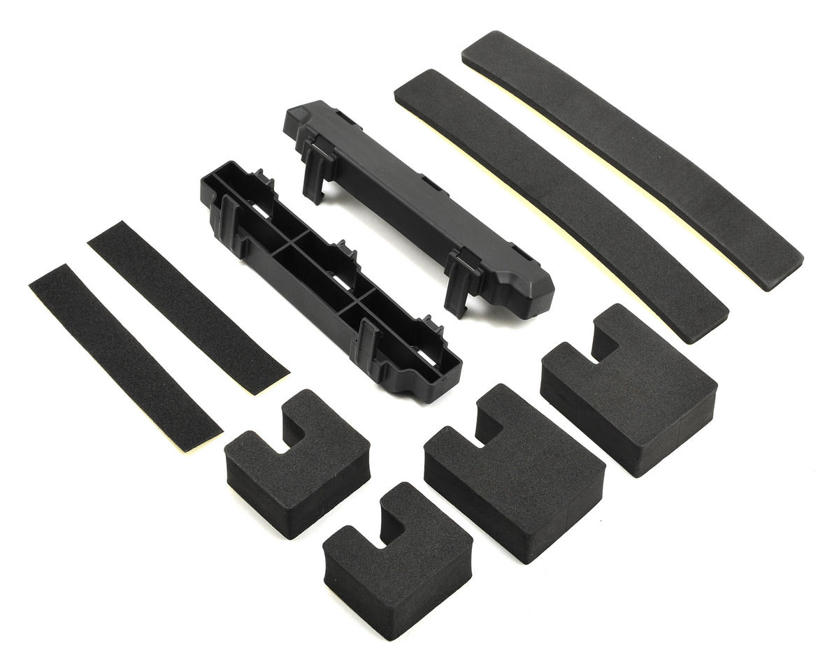 4 Body Clips Traxxas Parts Bag 8 Plastic Washers Foam Battery Spacer