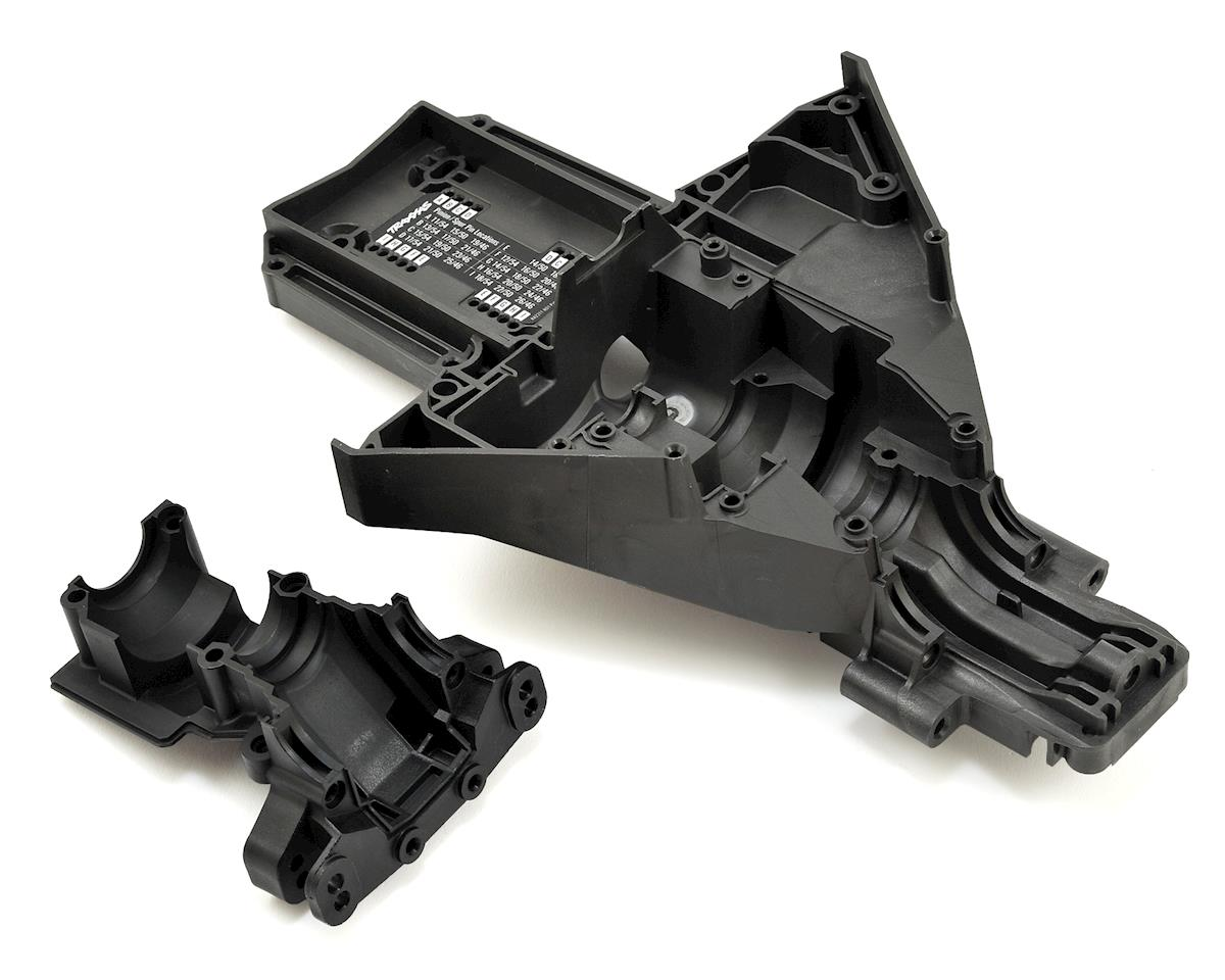 X-Maxx Rear Upper/Lower Bulkhead by Traxxas