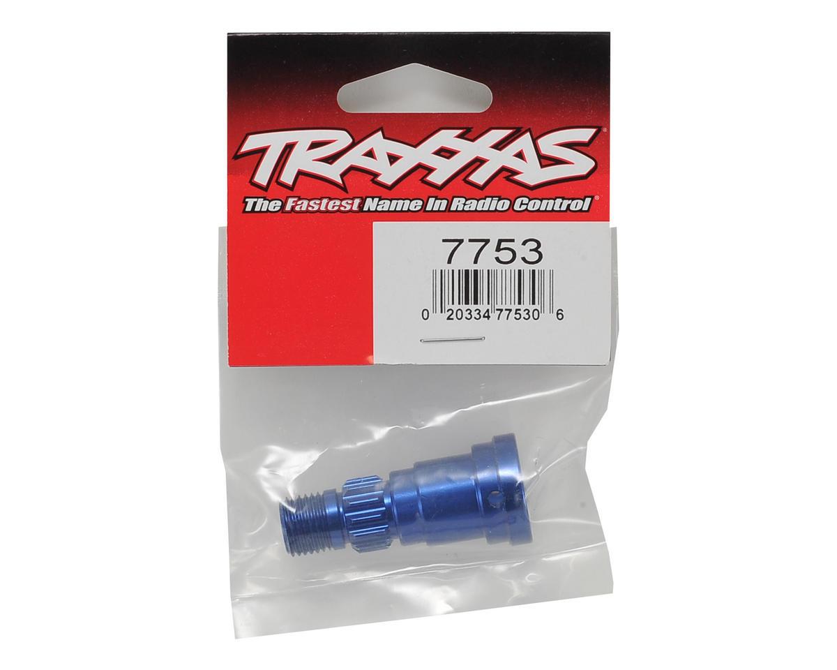 Traxxas X-Maxx Aluminum Stub Axle (Blue)