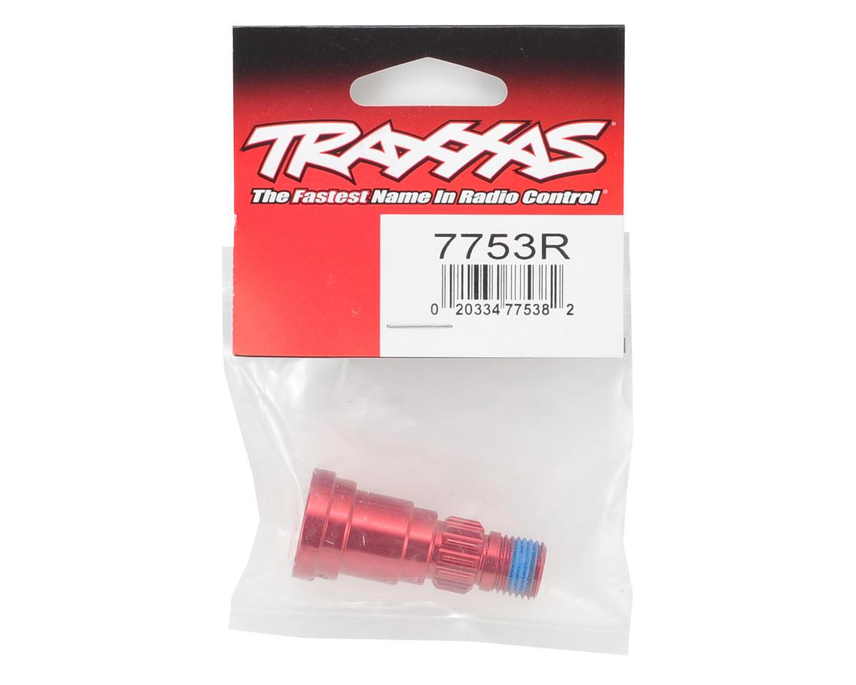 Traxxas X-Maxx Aluminum Stub Axle (Red)