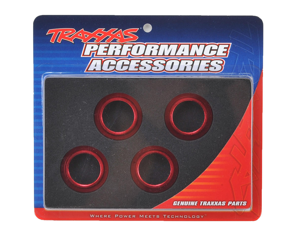 Traxxas X-Maxx Aluminum GTX Threaded Collar (Red) (4)