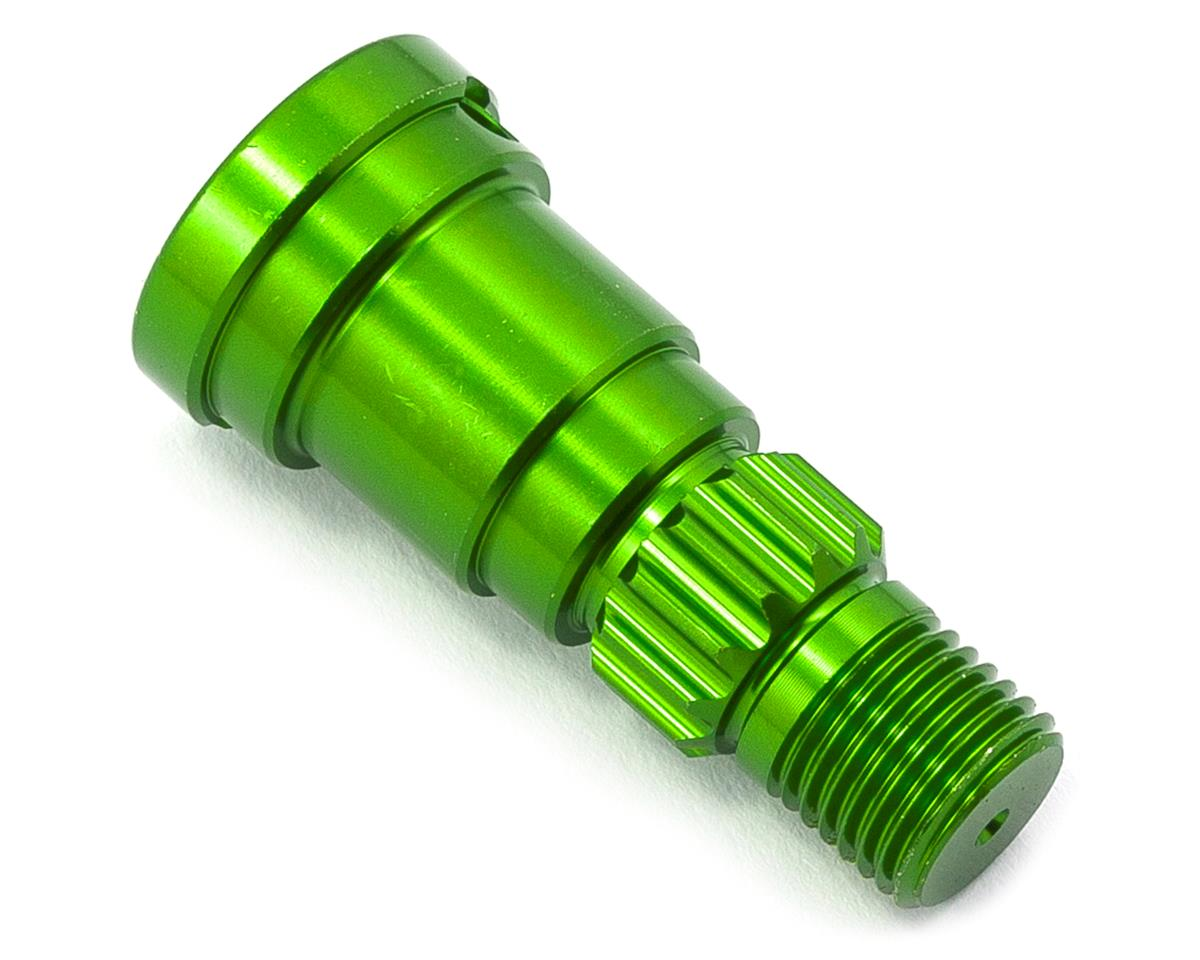 Traxxas X-Maxx Aluminum Stub Axle (Green) (use with TRA7750X)