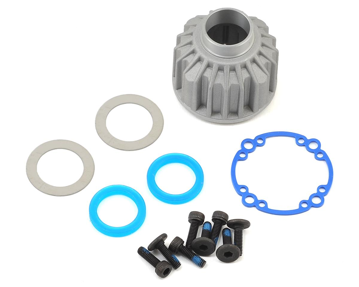 X-Maxx Aluminum Differential Housing Carrier (requires TRA7783X) by Traxxas