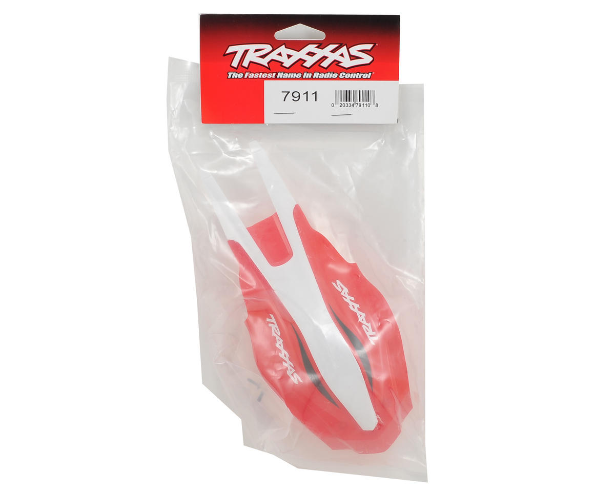 Traxxas Aton Canopy Front (Red/White)