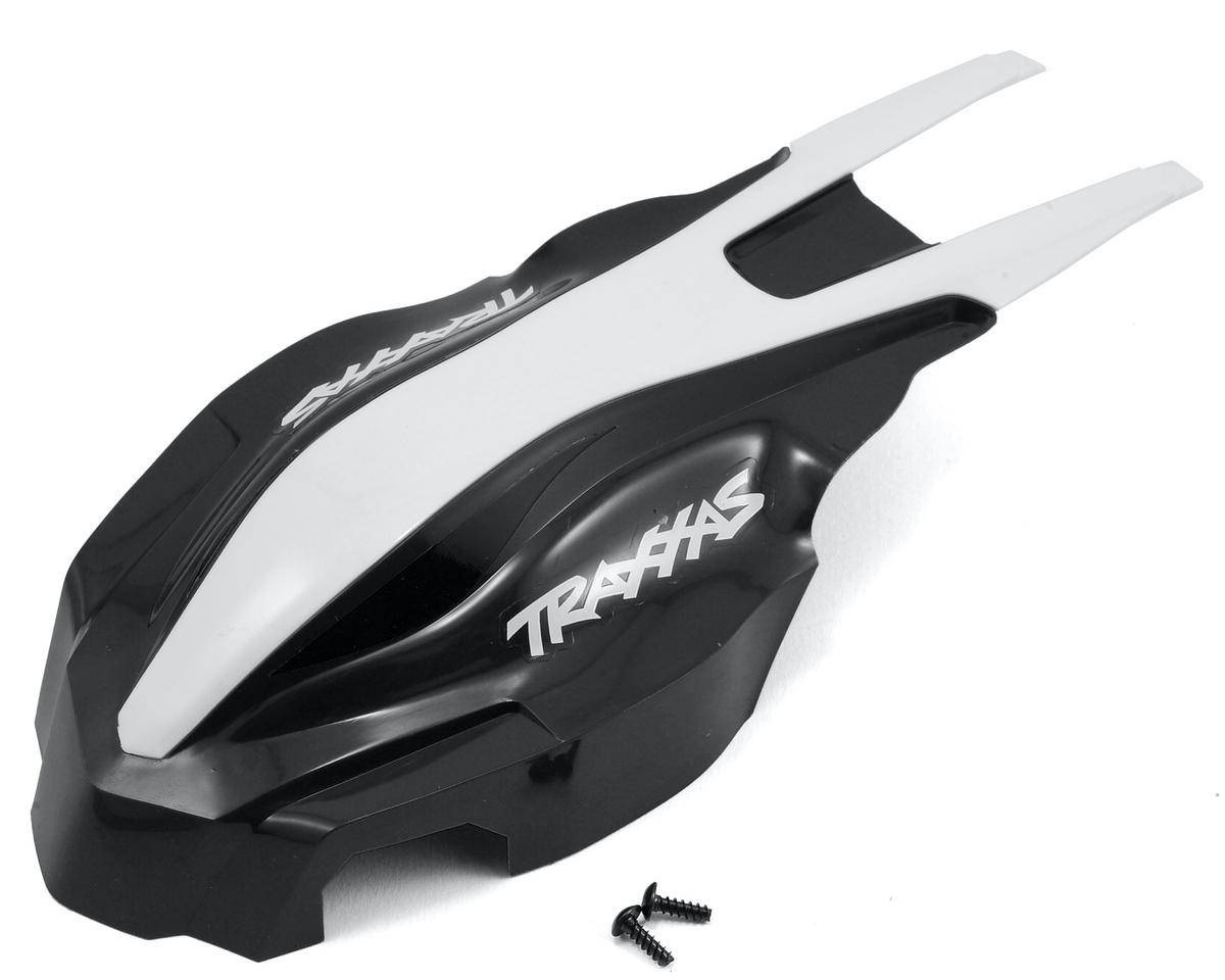 Aton Canopy Front (Black/White) by Traxxas