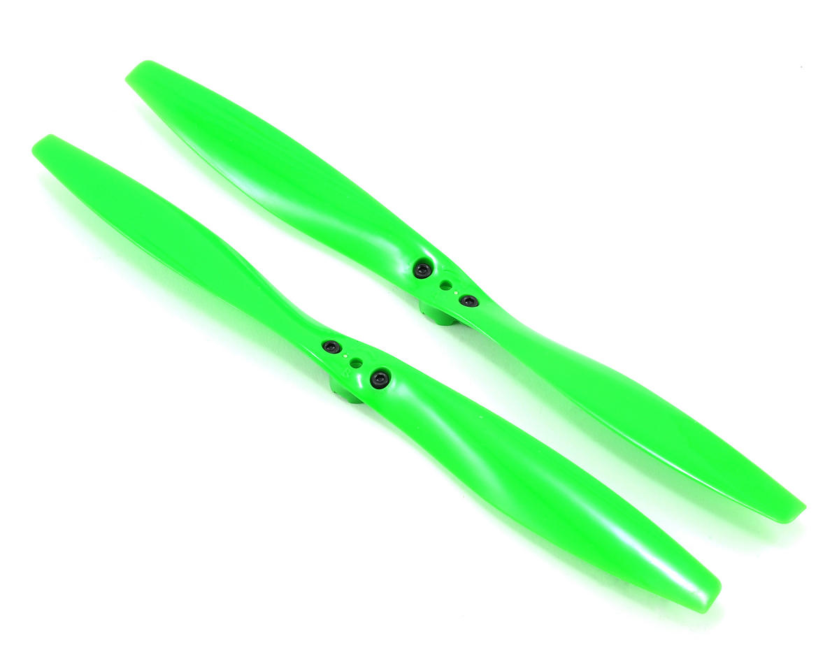 Aton Rotor Blade Set (Green) (2) by Traxxas