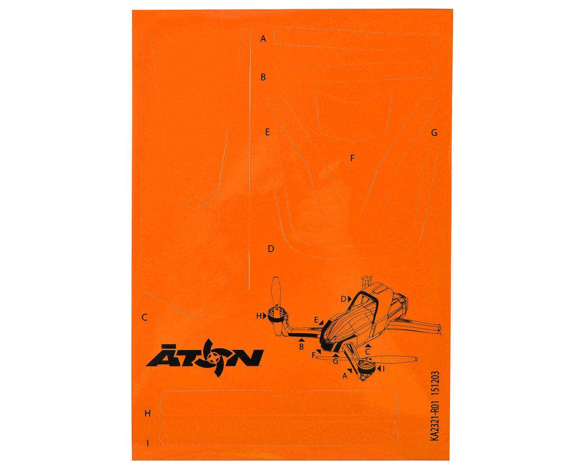 Traxxas Aton High Visibility Decals (Orange)