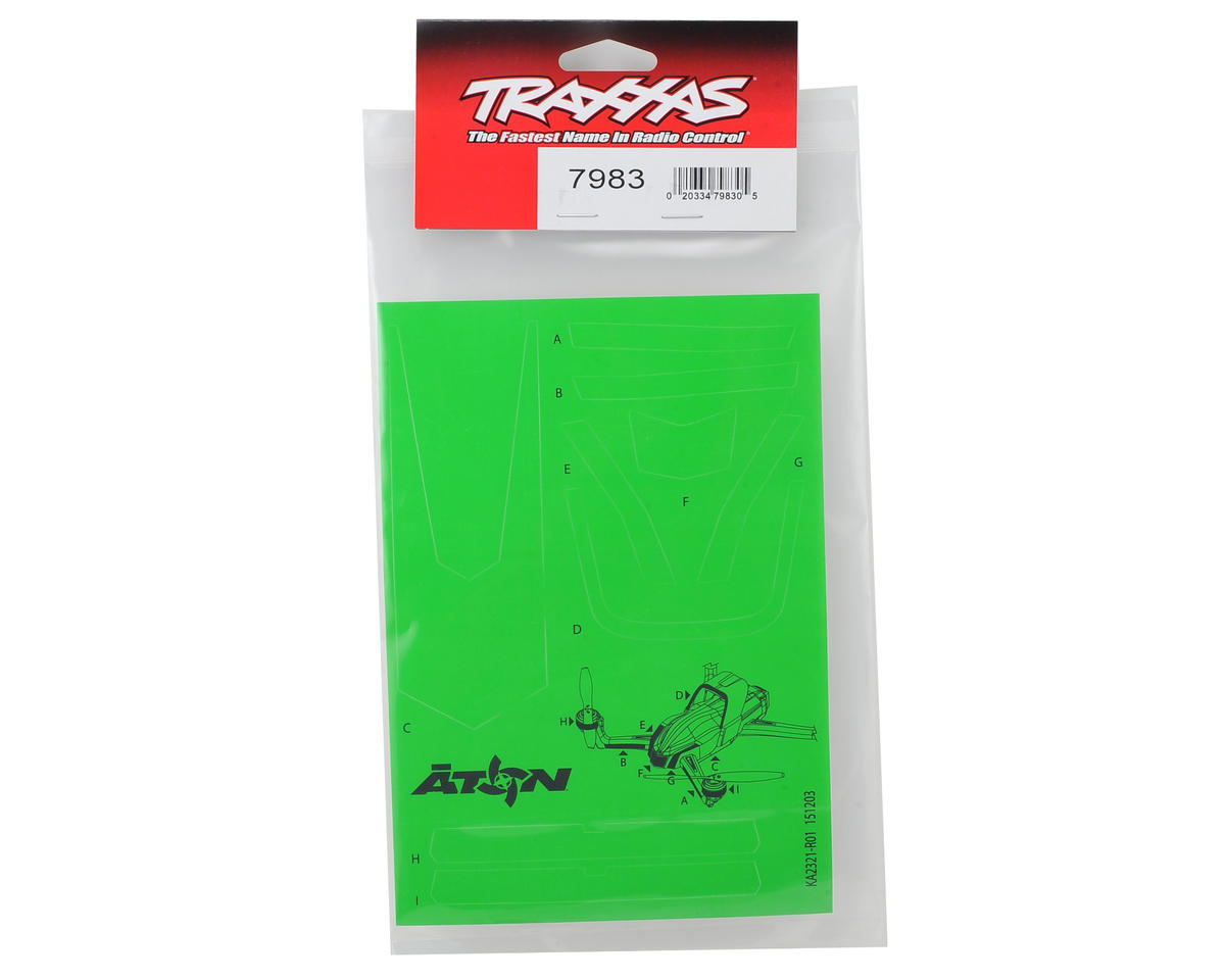 Aton High Visibility Decals (Green) by Traxxas