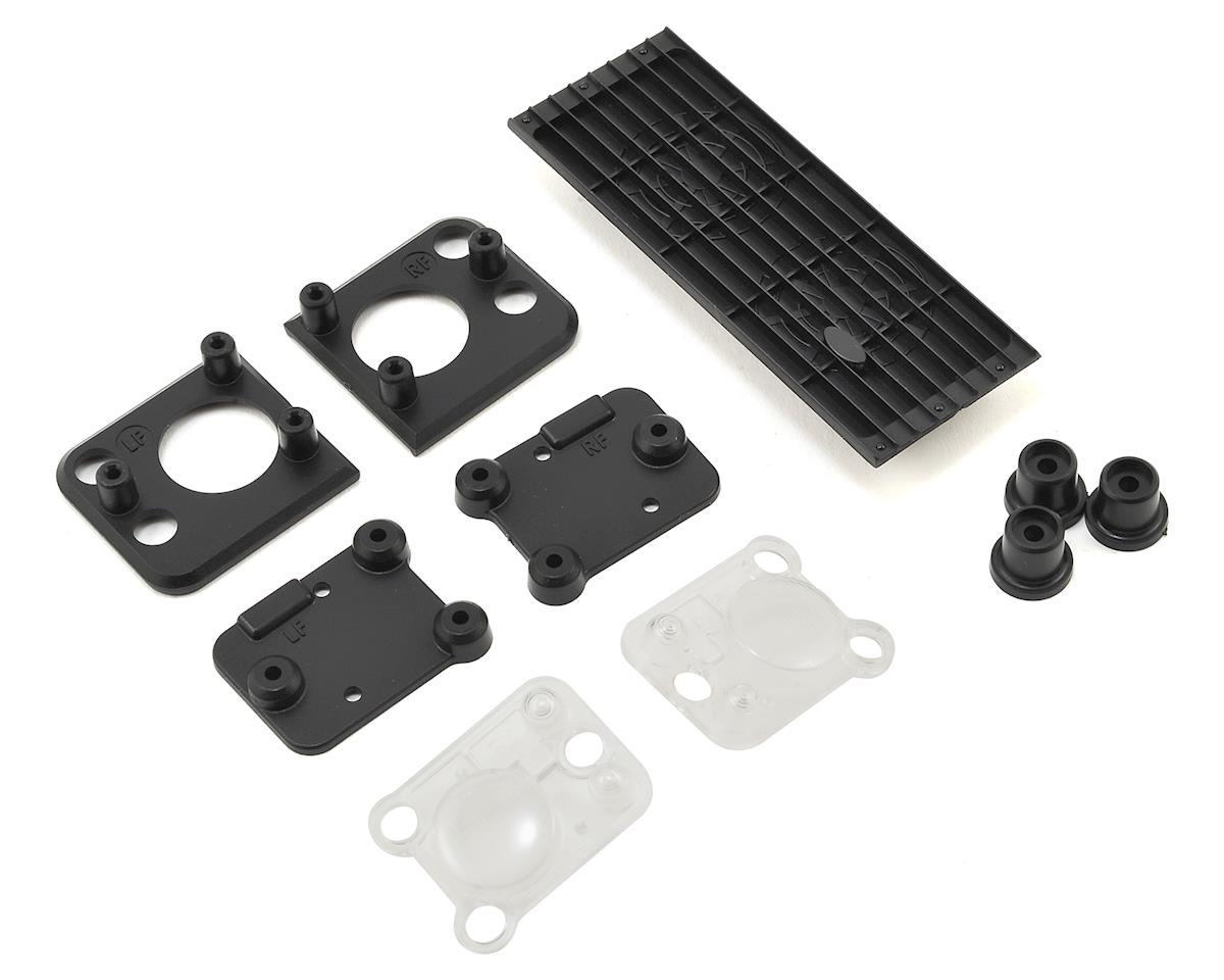 Traxxas TRX-4 Land Rover Defender Grill & Headlight Set