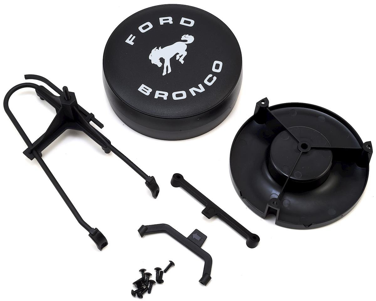 Spare Tire Mount & Cover (Ford Bronco) by Traxxas