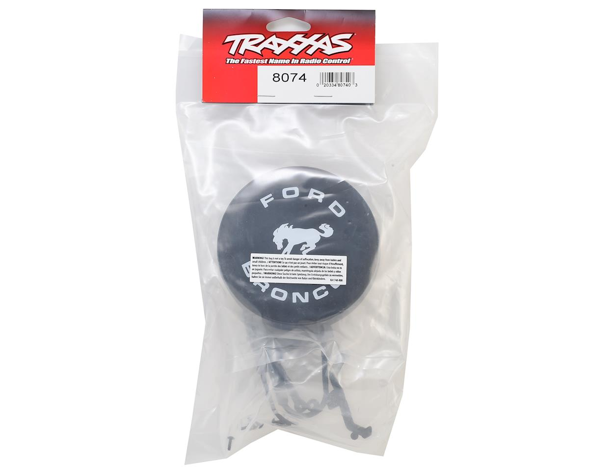 Traxxas Spare Tire Mount & Cover (Ford Bronco)