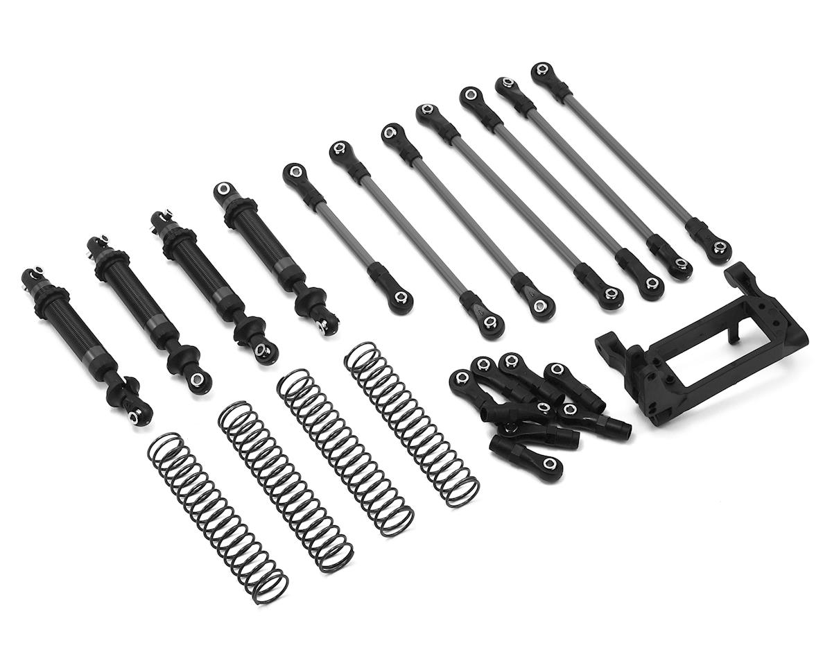 Traxxas TRX-4 Complete Long Arm Lift Kit (Black)