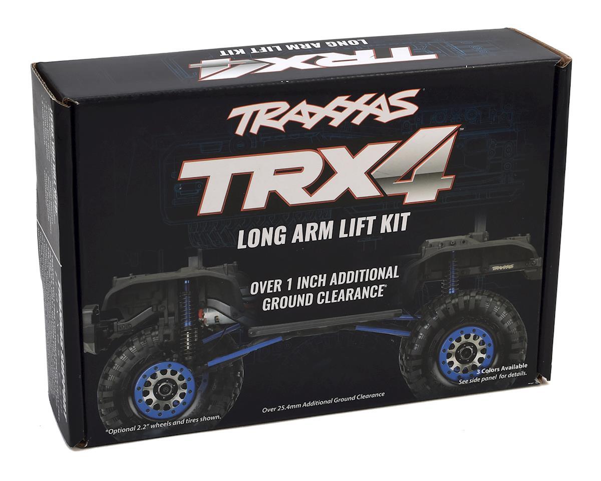 Traxxas TRX-4 Complete Long Arm Lift Kit (Black)