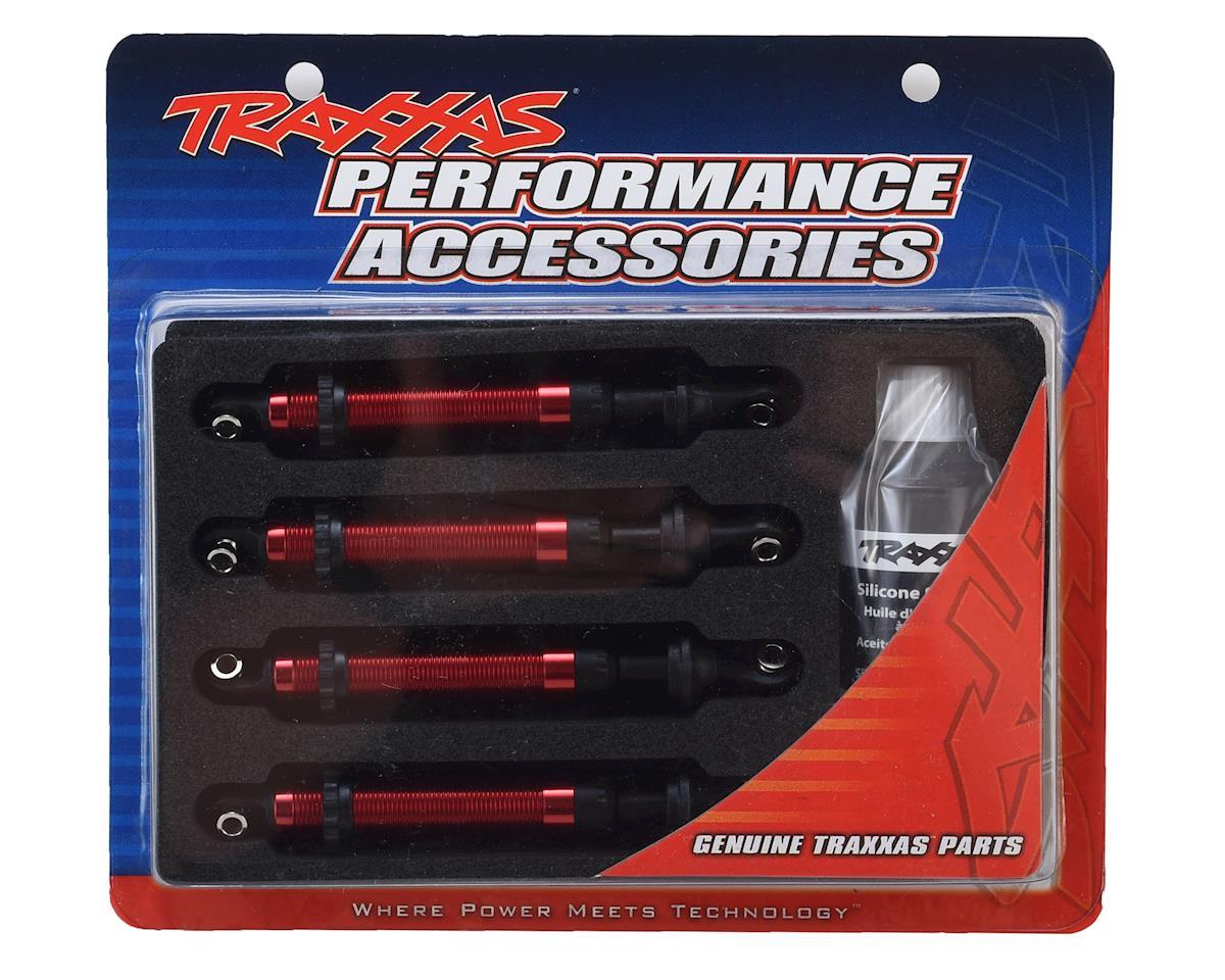 Traxxas TRX-4 GTS Aluminum Long Arm Shocks (Red) (4)