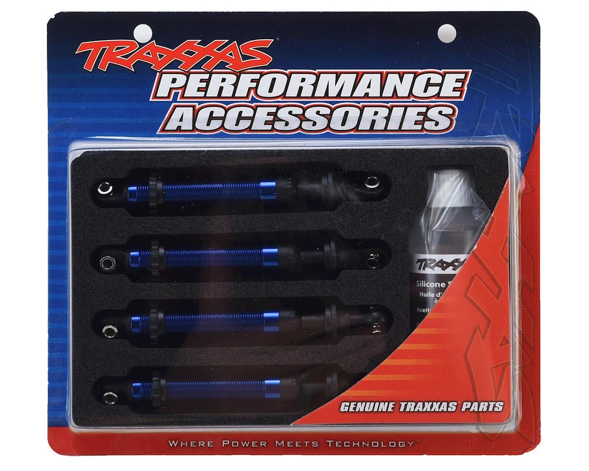 Traxxas TRX-4 GTS Aluminum Long Arm Shocks (Blue) (4)