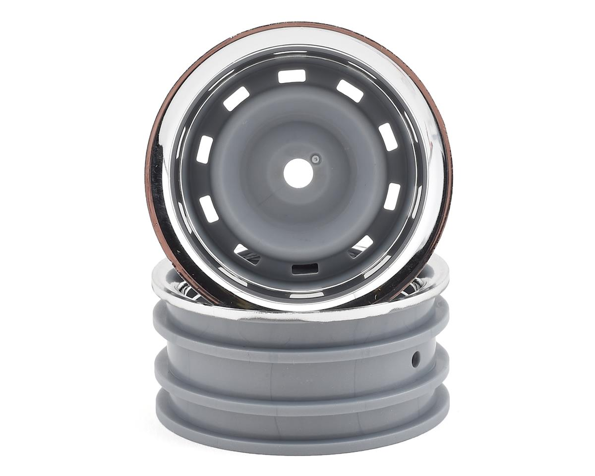 "Traxxas TRX-4 1.9"" Wheels w/Center Caps (Chrome) (2)"