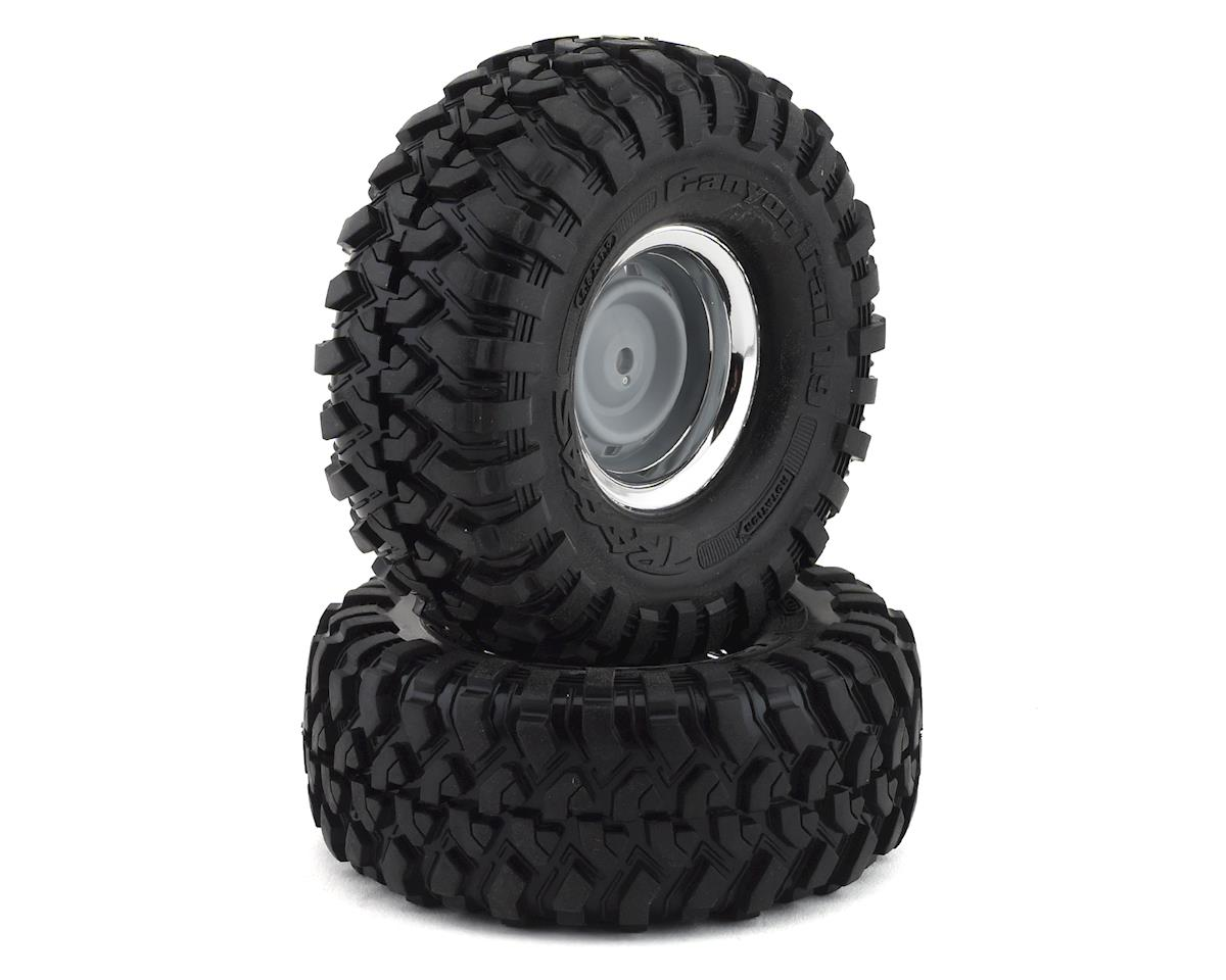 "Traxxas TRX-4 Blazer Pre-Mounted Canyon Trail 1.9"" Crawler Tires (Black) (2)"