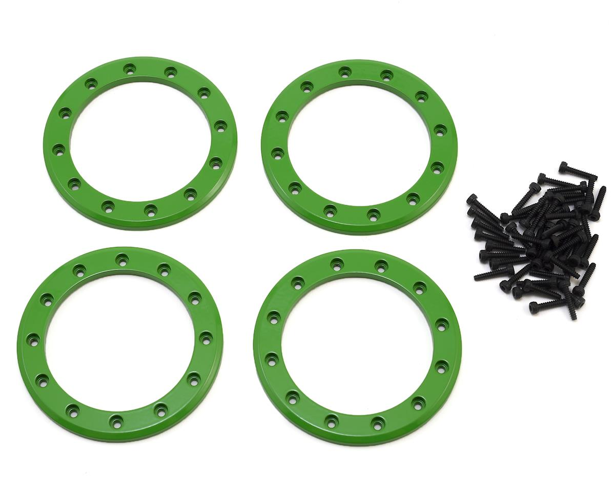 "Aluminum 2.2"" Beadlock Rings (Green) (4) by Traxxas"