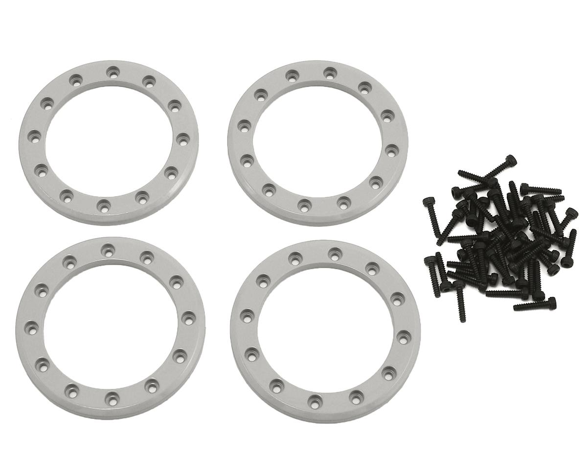 "Aluminum 1.9"" Beadlock Rings (Satin) (4) by Traxxas"