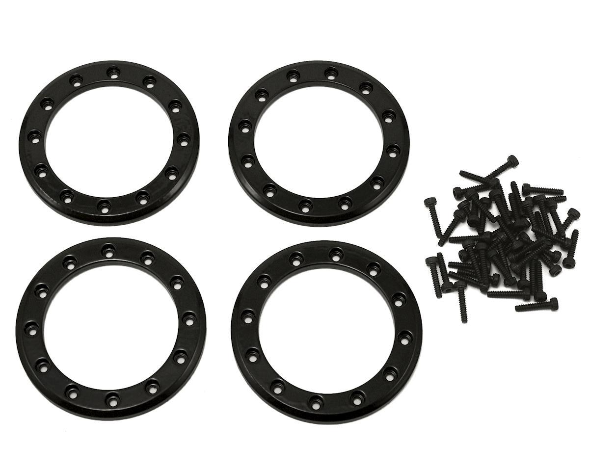 "Traxxas Aluminum 1.9"" Beadlock Rings (Black) (4)"