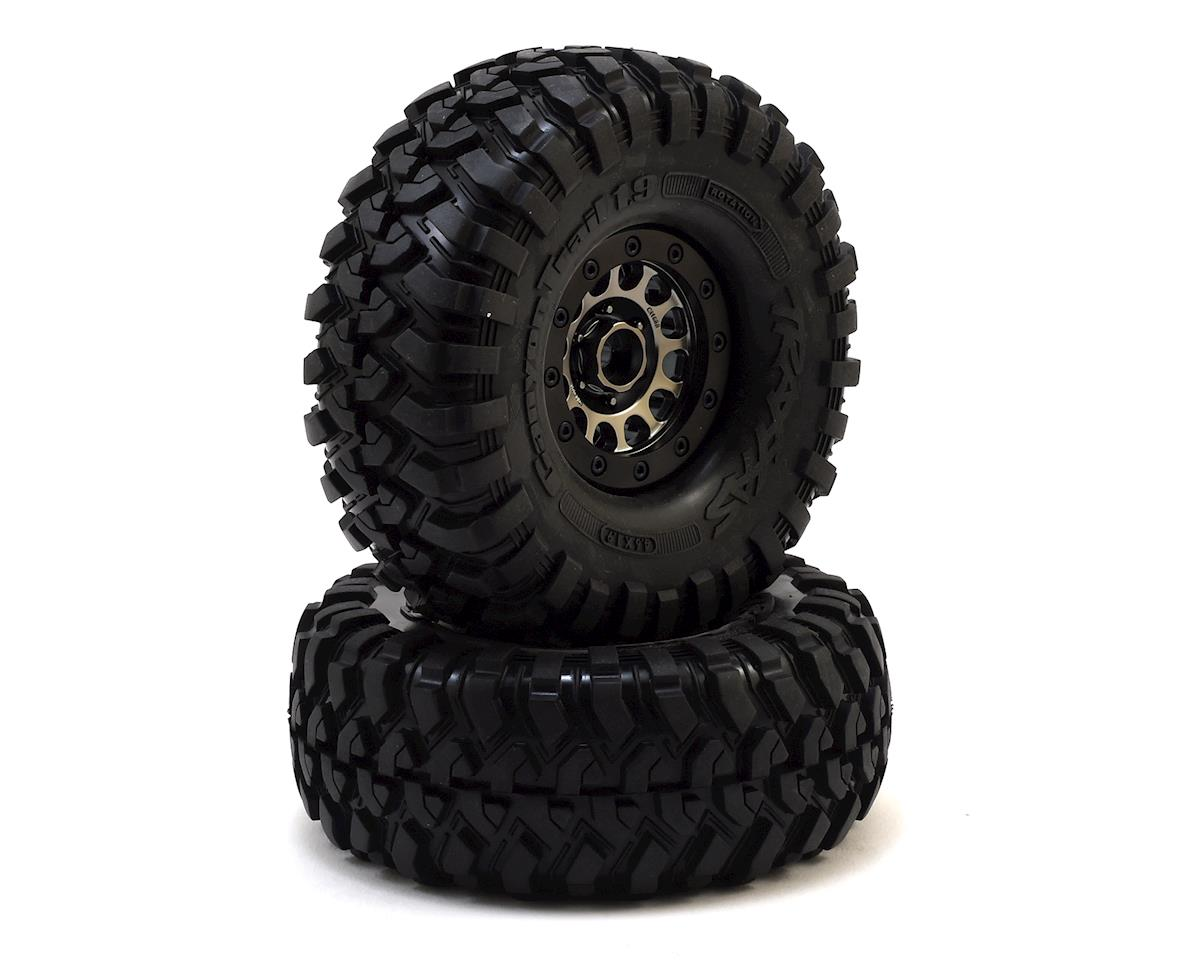 "Traxxas TRX-4 Pre-Mounted Canyon Trail 1.9"" Crawler Tires w/Method 105 Wheels"