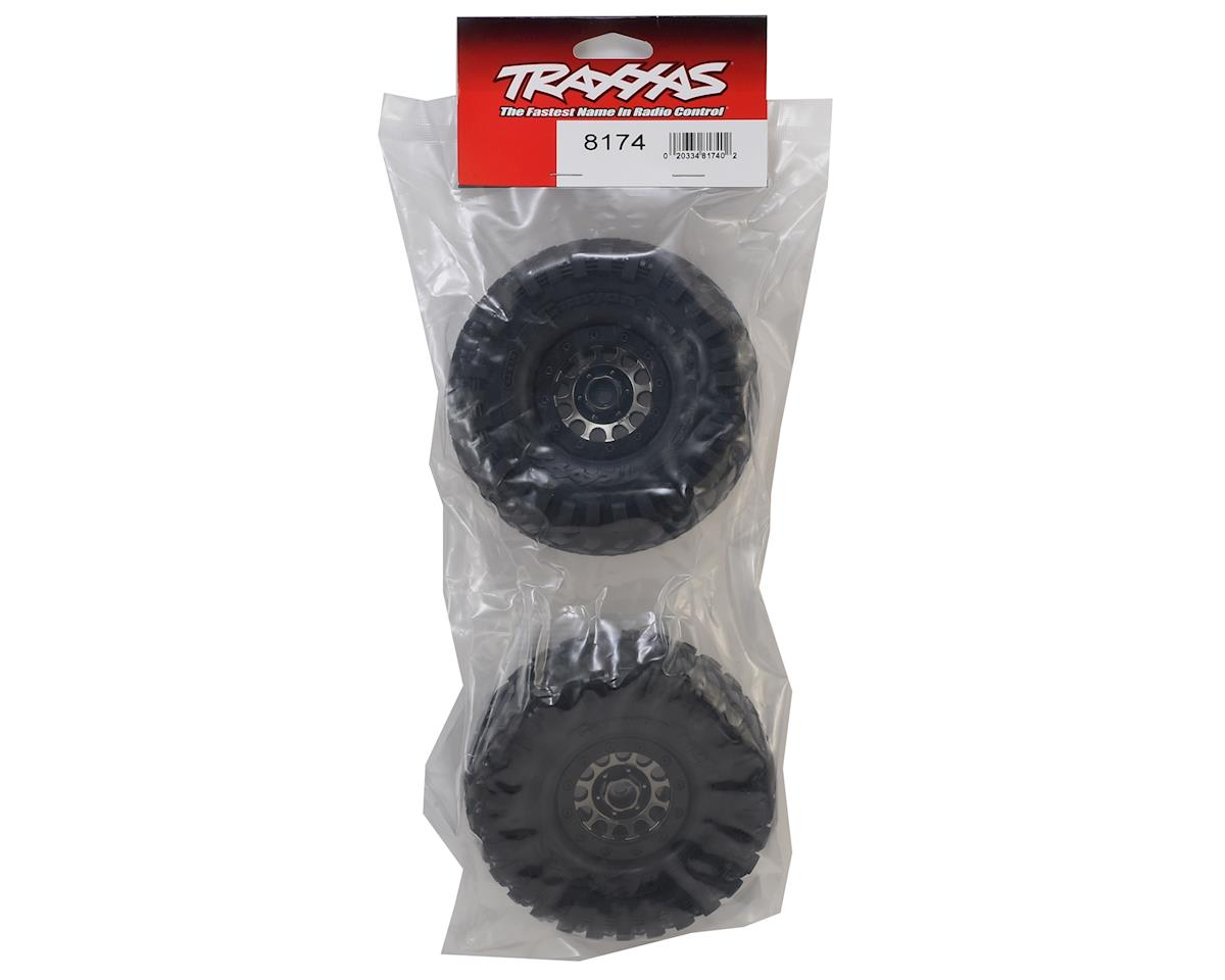 "Traxxas TRX-4 Pre-Mounted Canyon Trail 1.9"" Crawler Tires w/Method 105 Wheels"