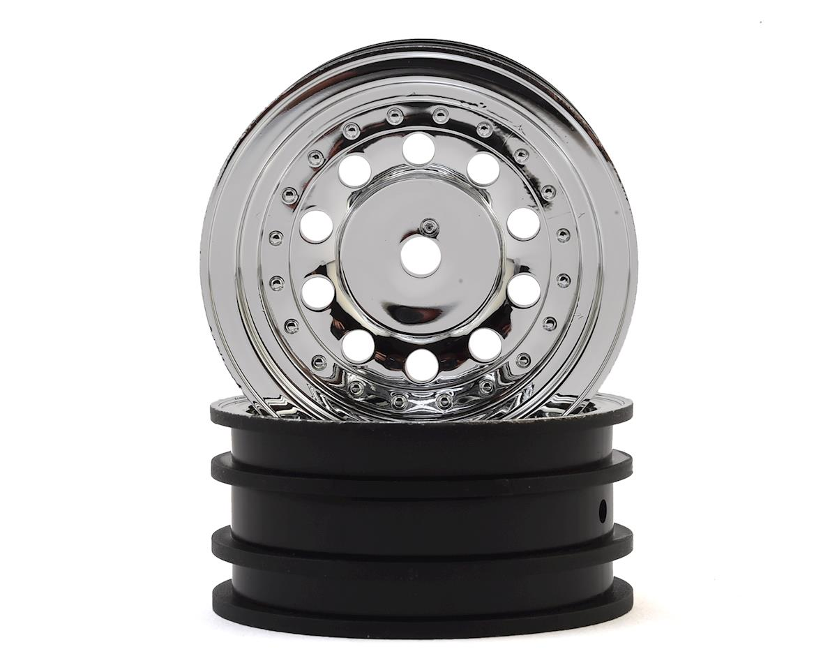 "Traxxas 1.9"" Wheels (Chrome) (2)"