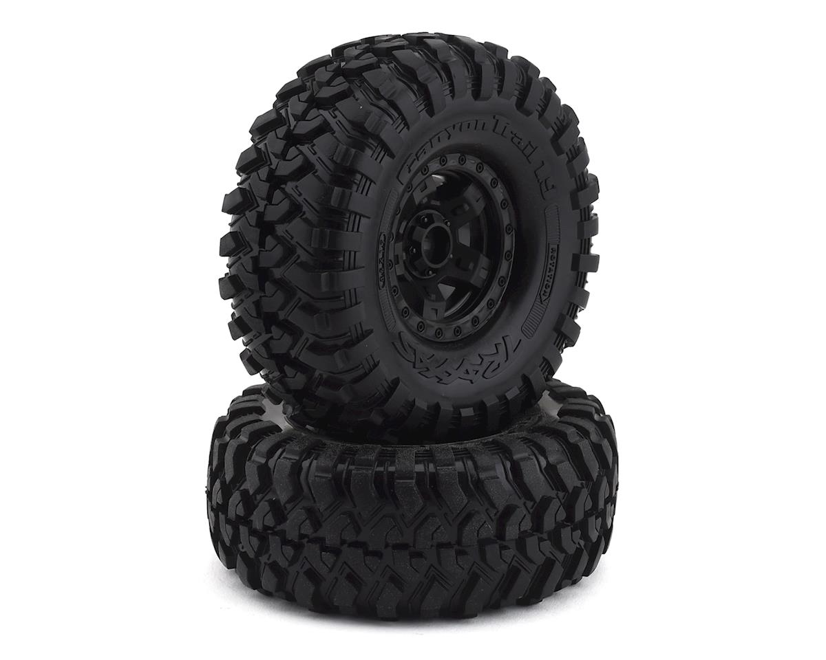 "Traxxas TRX-4 Pre-Mounted Canyon Trail 1.9"" Crawler Tires (Black) (2)"