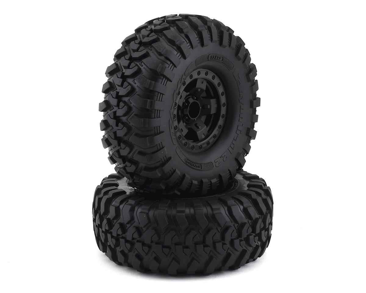 "Traxxas TRX-4 Pre-Mounted Canyon Trail 2.2"" Crawler Tires (Black) (2)"