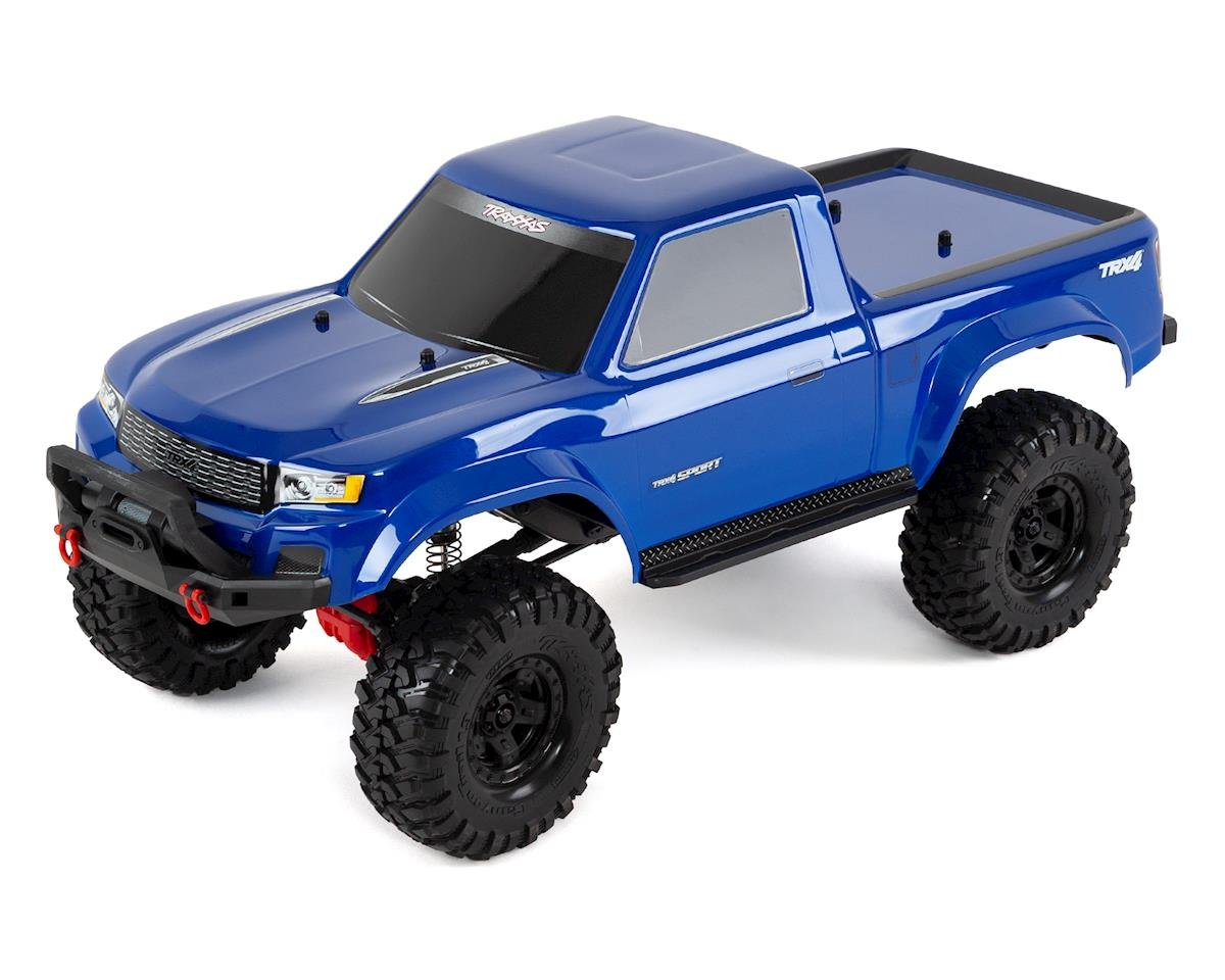 TRX-4 Sport 1/10 Scale Trail Rock Crawler (Blue) by Traxxas