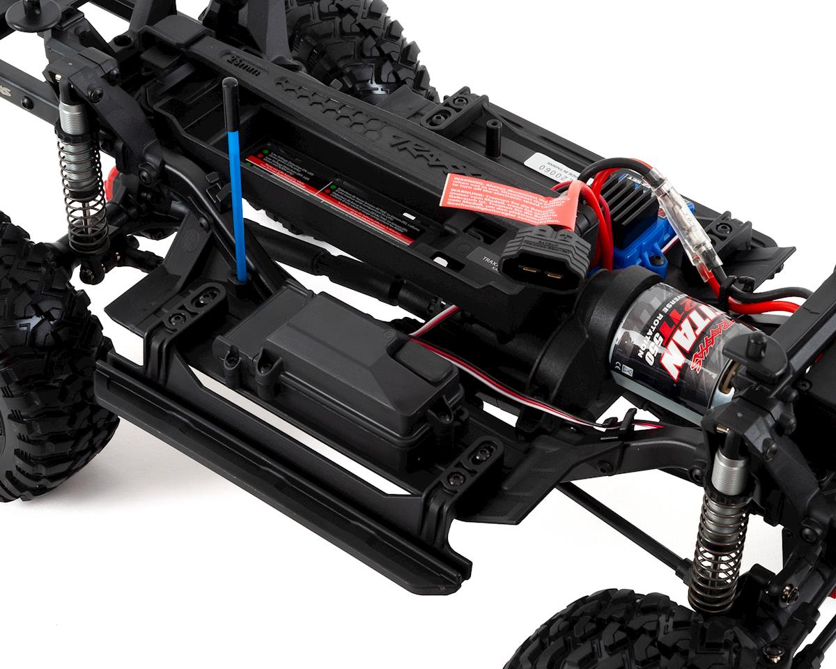 Traxxas TRX-4 Sport 1/10 Scale Trail Rock Crawler (Blue)