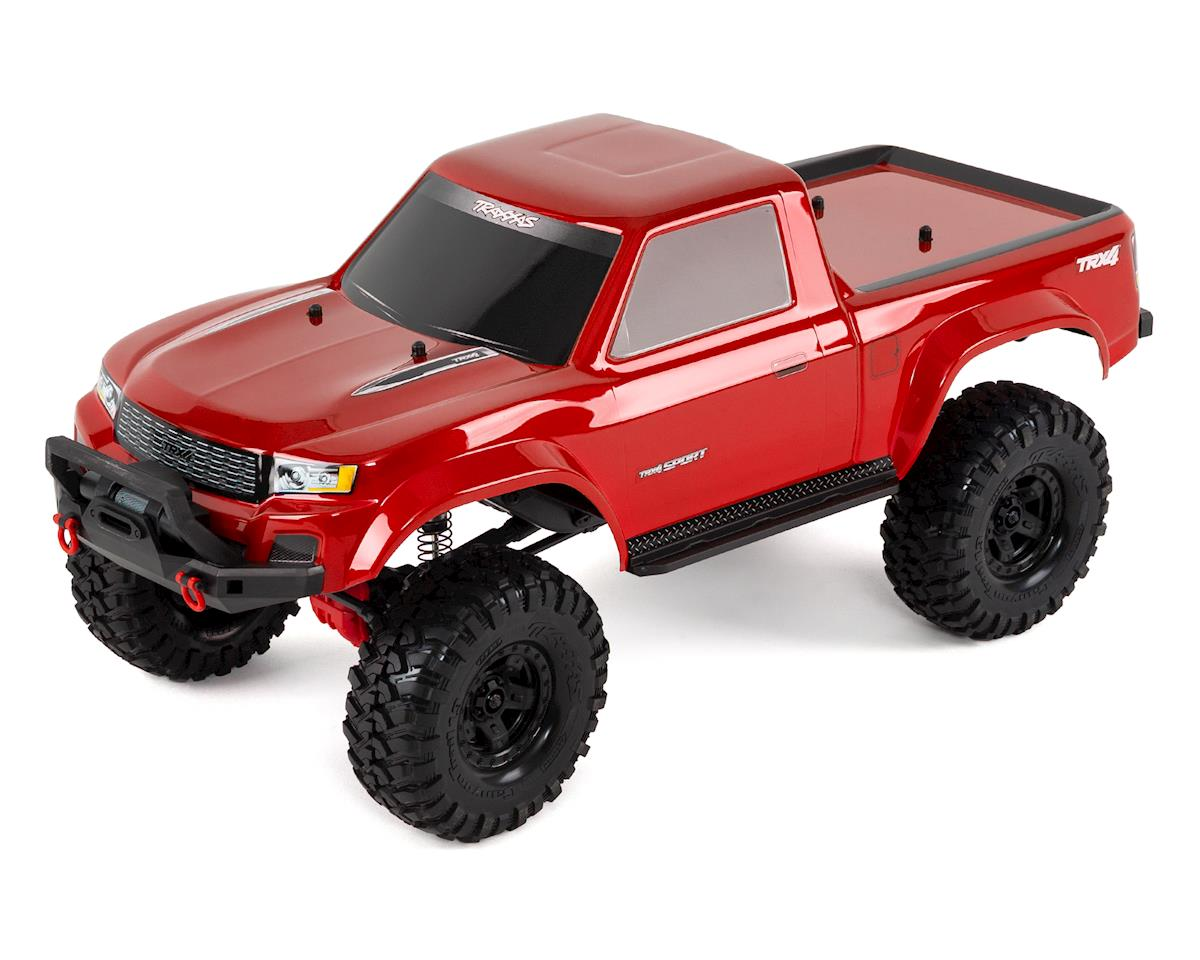 TRX-4 Sport 1/10 Scale Trail Rock Crawler (Red) by Traxxas